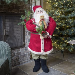 Toy Store Santa