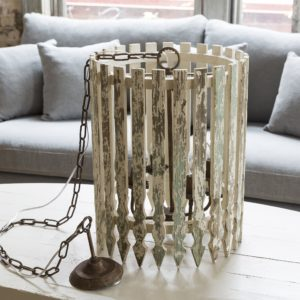 Picket Fence Light Fixture