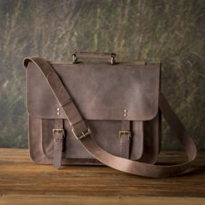 Counselor's Brief Case In Buffalo Finish