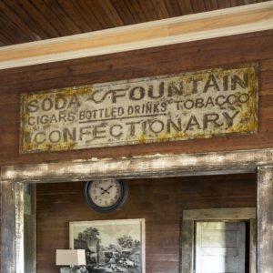 General Store Sign Tin Advertising