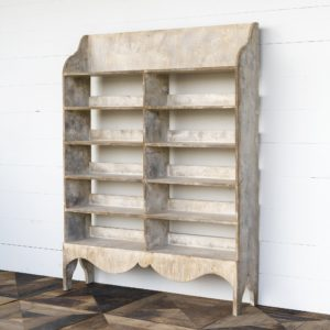 Painted Preserve Display Shelf