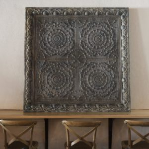 Aged Tin Ceiling Section