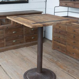 Vintage Style Bar Table