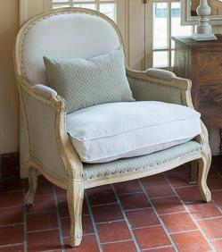 Upholstered Salon Chair