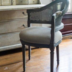 Cane Back Conversation Chair (set of 2)