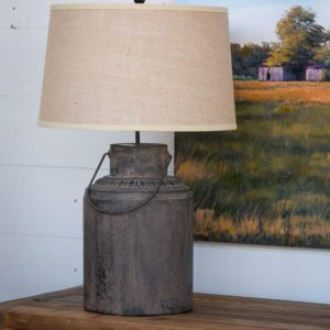 Metal Milk Can Lamp