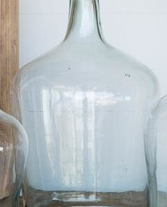 Recycled Glass Cellar Bottle Large