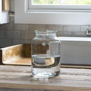 Artisan Glass Flower Vase Medium (set of 3)