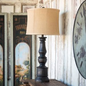 Coal Pillar Lamp
