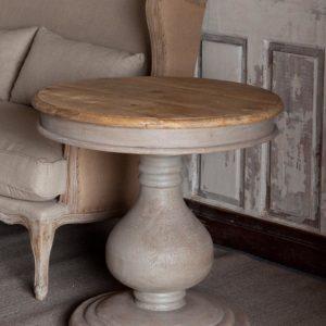 Vintaged Wooden Pedestal Table