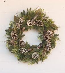 Winter Evergreen Wreath
