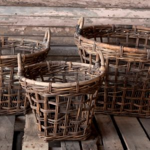 Open Weave Produce Basket (set of 3)