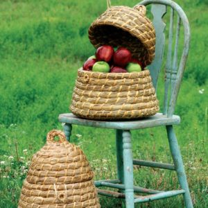 Bee Skep Basket - (Includes 2)