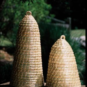 Extra Tall Bee Skep - (Includes 2)