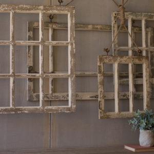 Set Of Four Window Frame Wall Art