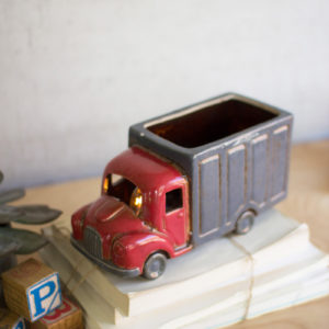 Ceramic Cargo Truck Night Light
