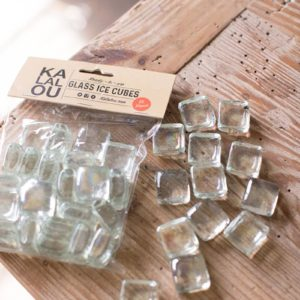 Glass Ice Cubes - (Includes 6 Boxes with 6 items in each Box)