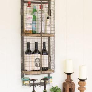 Wire Bar Storage Cabinet