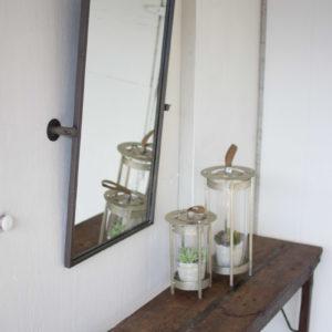 Adjustable Metal Wall Mirror