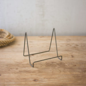 Wire Easel With Raw Metal Finish - Small - (Includes 6 Boxes with 6 items in each Box)