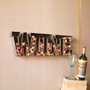 Metal Wine Cork Holder