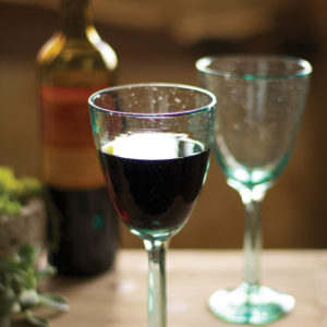 Recycled Wine Glass - (Includes 6 Boxes with 6 items in each Box)