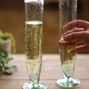 Tall Recycled Champagne Flute - (Includes 6 Boxes with 6 items in each Box)
