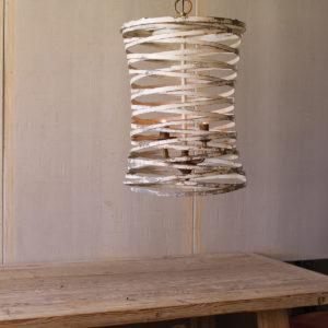 Metal Ribbon Pendant Light