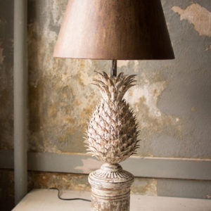 Metal Pineapple Table Lamp
