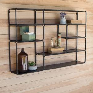 Large Metal Wall Shelf