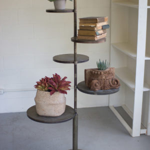 Five Tiered Metal Display Stand