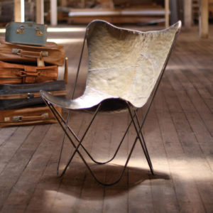 Iron Butterfly Chair - Raw