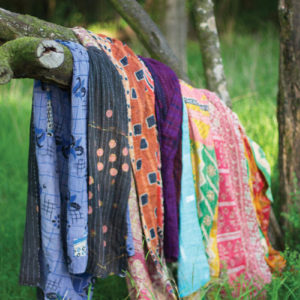 Recycled Kantha Throws-assorted Sizes And Patterns