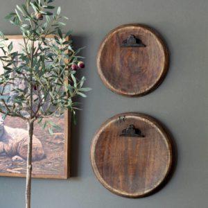 Barrel Top Hanging Photo Holder, Large Min 6