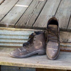 Metal Field Boots