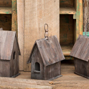 Rustic Chapel Birdhouse