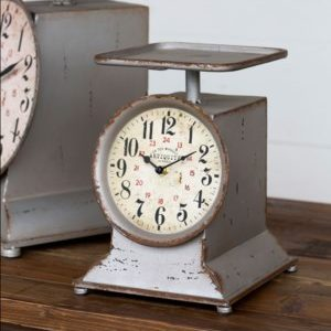 Grocery Scale Clock, Small