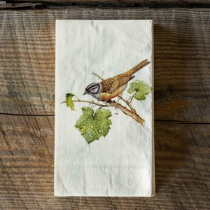 Songbird Dinner Napkin Guest Towel