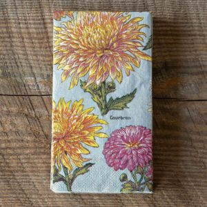 Chrysanthemum Dinner Napkin Guest Towel