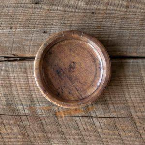 Wood Grain Dessert Salad Plate