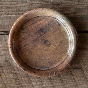 Wood Grain Dinner Plate