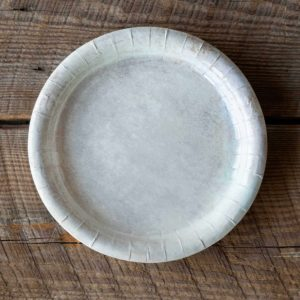 Aged Stoneware Dinner Plate