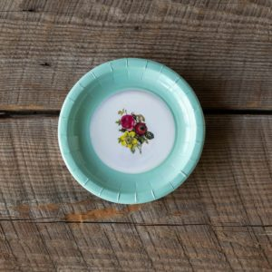 Old China Look Dessert Salad Plate