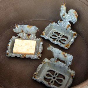 Cast Iron Pig Soap Dish Min 2