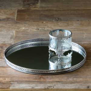 Mirrored Vanity Tray Min 2