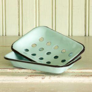 Enamelware Soap Dish Min 5