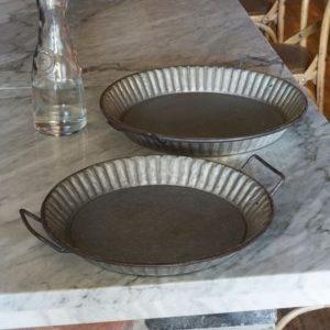 Metal Pie Crust Trays