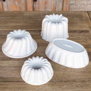 Matte Finish Baking Molds Set of 4