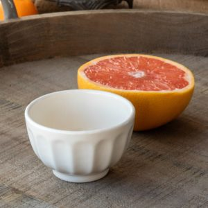 "Creamware Vintage Style Bowl, 3.5"" Min 6"