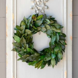Lemon Leaf Wreath